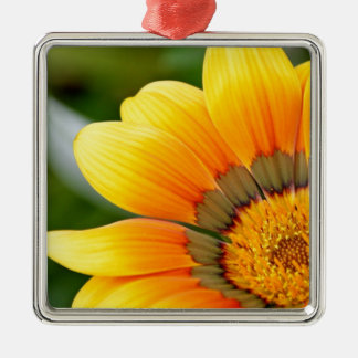 Ornamento De Metal Flor amarela