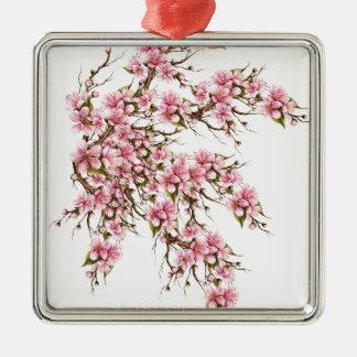 Ornamento De Metal Flor de cerejeira