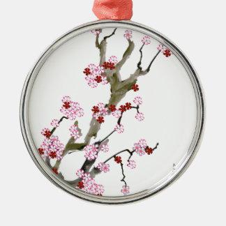 Ornamento De Metal Flor de cerejeira 16 Tony Fernandes