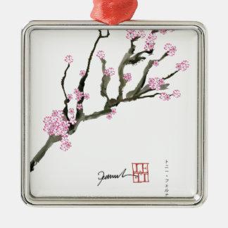 Ornamento De Metal Flor de cerejeira 8 de Tony Fernandes