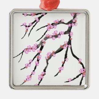 Ornamento De Metal Flor de cerejeira vermelha 32, Tony Fernandes