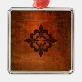 Ornamento De Metal Flor de lis de Quatre