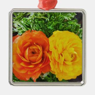 Ornamento De Metal Flor dobro do problema