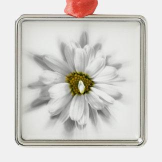 Ornamento De Metal flor nas máscaras do branco