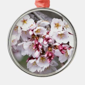 Ornamento De Metal Flores de cerejeira