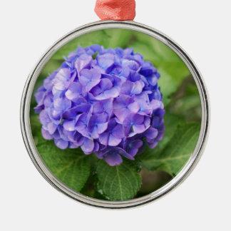 Ornamento De Metal Flores de um hydrangea do francês (macrophyl do