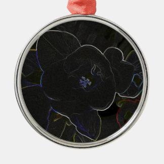 Ornamento De Metal flores do freesia esboçadas