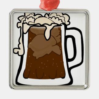 Ornamento De Metal Flutuador do refrigerante root beer