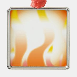 Ornamento De Metal Fogo abstrato