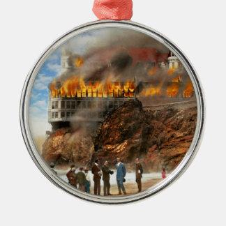 Ornamento De Metal Fogo - fogo 1907 de Cliffside