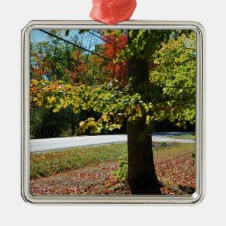 Ornamento De Metal Folhas de outono em Maine