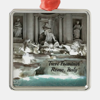 Ornamento De Metal Fonte do Trevi, Roma Italia