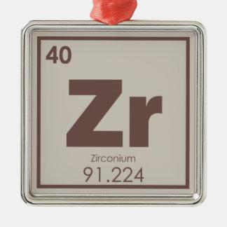 Ornamento De Metal Formul da química do símbolo do elemento químico