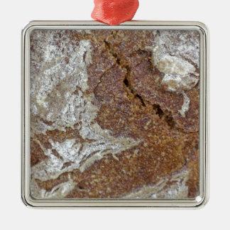 Ornamento De Metal Foto macro da superfície do pão de mistura de Ger