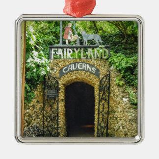 Ornamento De Metal Fotografia da natureza das cavernas do Fairyland