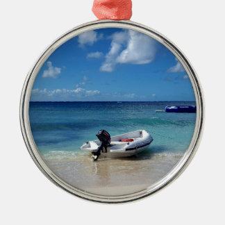 Ornamento De Metal Fotografia das caraíbas bonita do barco de