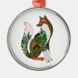 Ornamento De Metal Fox