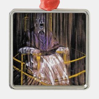 Ornamento De Metal Francis Bacon - papas gritando