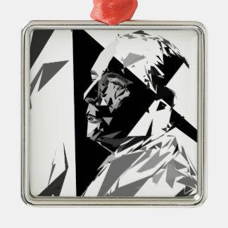Ornamento De Metal François Mitterrand