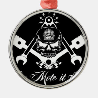 Ornamento De Metal Freemason-Widows-Sons-Masonic-Hotrod-Logo-20160407