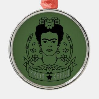 Ornamento De Metal Frida Kahlo | Heroína