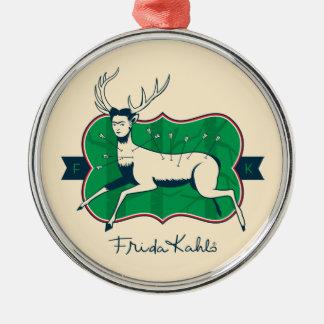 Ornamento De Metal Frida Kahlo | os cervos feridos