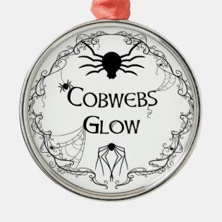 Ornamento De Metal Fulgor dos Cobwebs