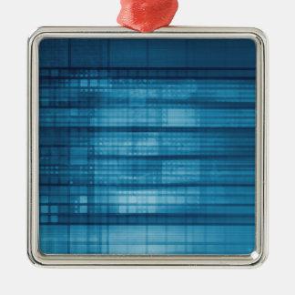 Ornamento De Metal Fundo do mosaico da tecnologia como uma arte do