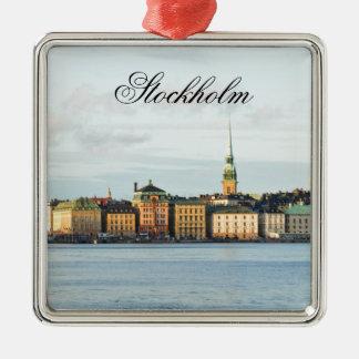 Ornamento De Metal Gamla Stan em Éstocolmo, suecia