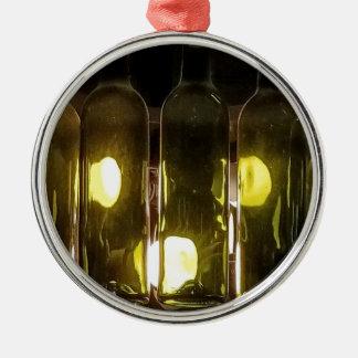 Ornamento De Metal Garrafa de vinho Funky artística de Masculinev
