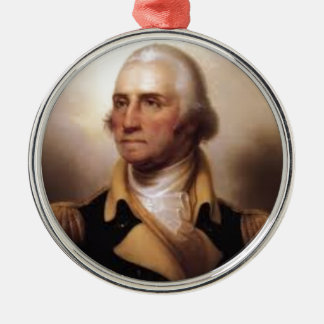 Ornamento De Metal George Washington