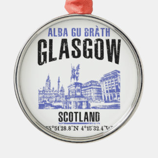 Ornamento De Metal Glasgow