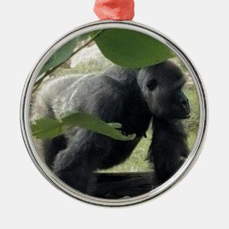 Ornamento De Metal Gorila do Silverback