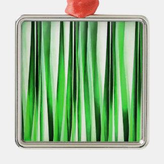 Ornamento De Metal Grama verde de sussurro