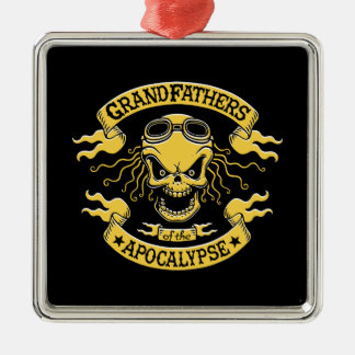 Ornamento De Metal Gramps do apocalipse