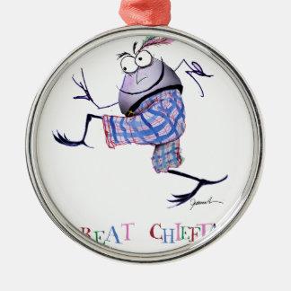 Ornamento De Metal grande puddin-raça chieftan do o'the