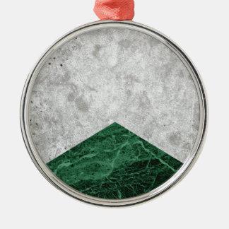 Ornamento De Metal Granito concreto #412 do verde da seta