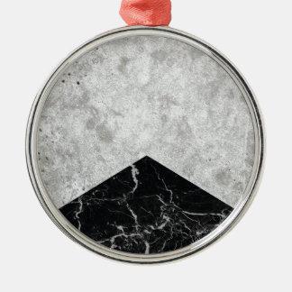 Ornamento De Metal Granito concreto #844 do preto da seta