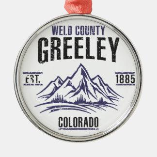 Ornamento De Metal Greeley