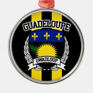 Ornamento De Metal Guadalupe