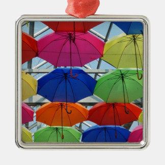 Ornamento De Metal guarda-chuva colorido