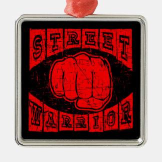 Ornamento De Metal guerreiro da rua
