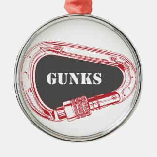 Ornamento De Metal Gunks que escalam Carabiner