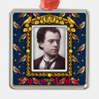Ornamento De Metal Gustav Mahler