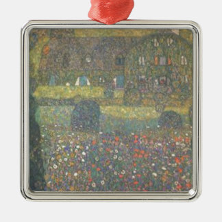 Ornamento De Metal Gustavo Klimt - casa de campo pela arte de