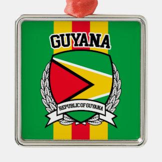 Ornamento De Metal Guyana