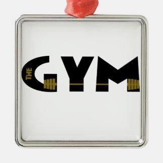 Ornamento De Metal Gym e malhação