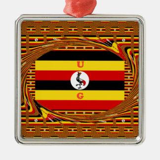 Ornamento De Metal Hakuna surpreendente bonito Matata Uganda bonito