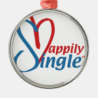 Ornamento De Metal HappilySingle™