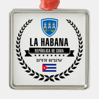 Ornamento De Metal Havana